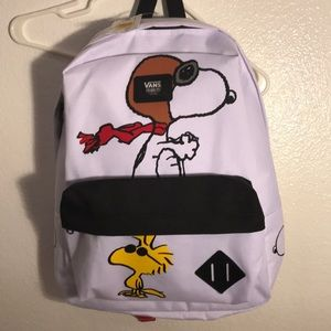 NWT Snoopy Vans Backpack