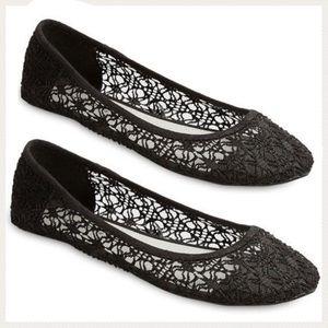 Lace / Crochet Flats
