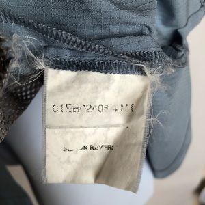 Jack Wolfskin Shirts - Jack Wolfskin Travel Shirt Sz L Blue & Gray