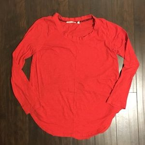 Anthropologie PURE + GOOD Long Sleeve Top