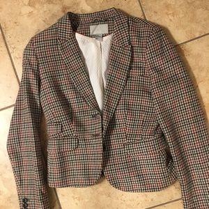 H&M houndstooth blazer