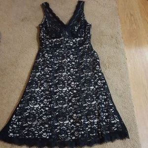Black and white size 2 dress