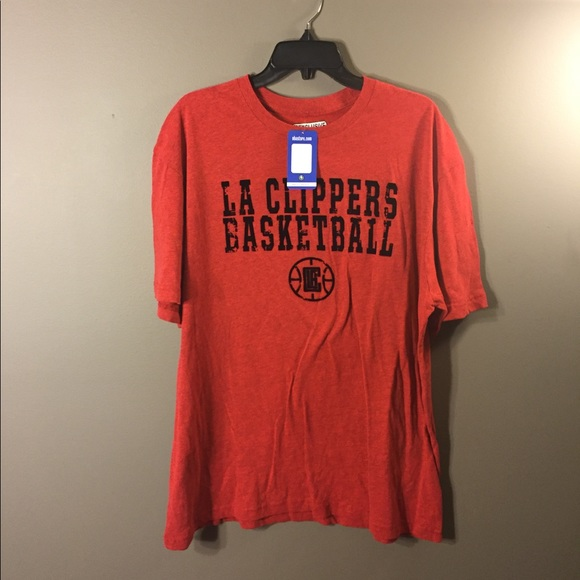 e0ef960bde1 nba Shirts   La Clippers Basketball Red Tshirt Xl   Poshmark