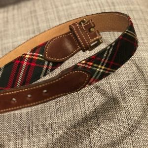 Tartan Plaid Belt