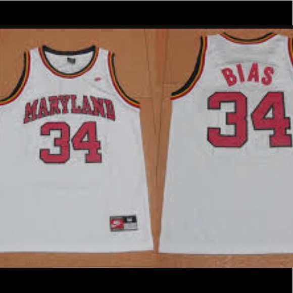 9728b32e3812 Nike Len Bias Maryland Terps Swingman XL