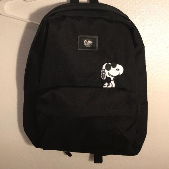 NWT Snoopy Vans Backpack