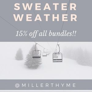 Sweaters - ❄️ 15% off Bundles of 2+ items!! ❄️
