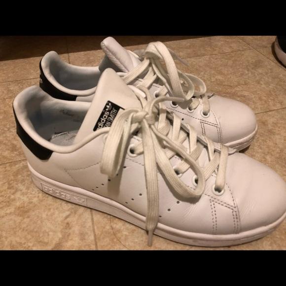 le adidas stan smith donne 55 bianco nero poshmark