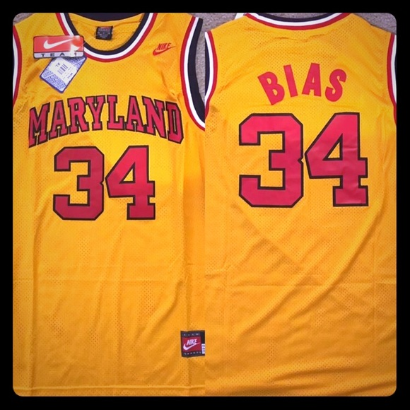 sports shoes ea772 b0980 Nike Len Bias Swingman Terps Alt. Jersey,Med. NWT! Boutique