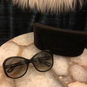 TOM FORD Black Oversized Sunglasses