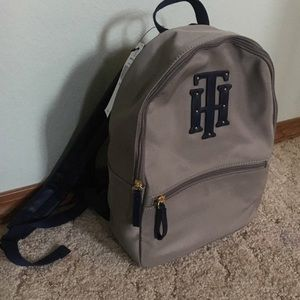Grey Timmy Hilfiger Backpack