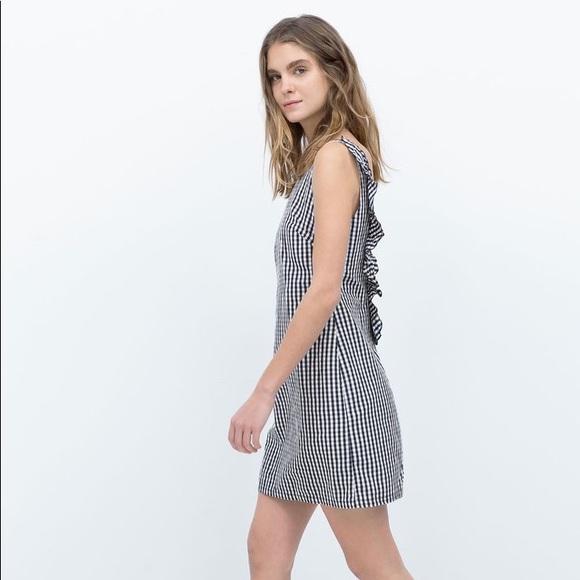 Ruffle Back Dress