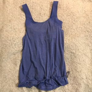 Lululemon size 6 work out tank top