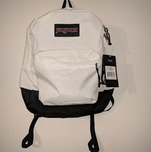 Jansport Backpack - White and Black, floral, etc.