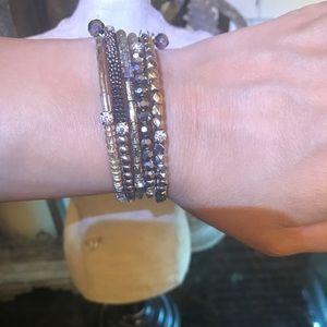 Buckle stretch bracelet
