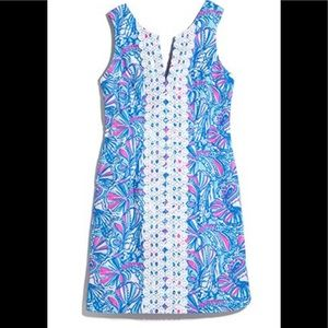 Rare Lilly Pulitzer 4 Target Oh My Fans Dress 6