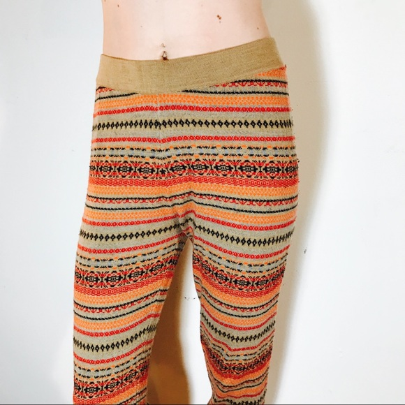 61% off J. Crew Pants - J. CREW FAIR ISLE SWEATER LEGGINGS COMFY ...