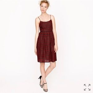 J Crew Stripe Derby Dress Size 00