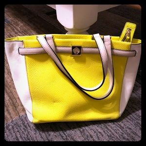 Yellow KateSpade Tote. Like new wore a few times.