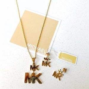 Set Michael Kors Necklace and Earring