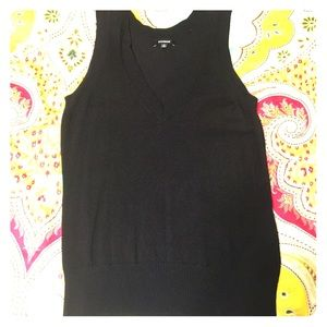 Express sweater vest small