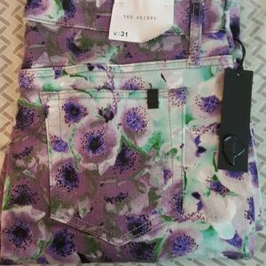 Nwt Joe's jeans floral skinny jeans