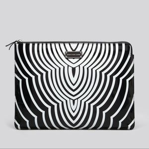 Techno Radio Waves Laptop Case