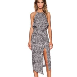 REVOLVE Shona Joy Theory Scarf Animal Print Dress