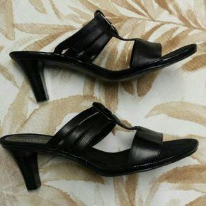 Aerosoles Slide Heeled Sandals - New