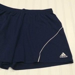Adidas women's soccer shorts, Sz L