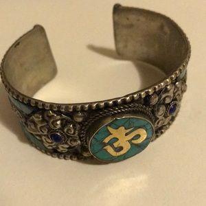OM cuff bracelet