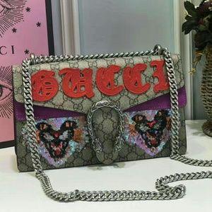 Gucci Dionysus Cat Shoulder Bag