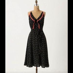 Anthropologie Girls from Savoy Gull Wing Dress