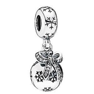 Pandora Christmas Ornament Dangle Charm