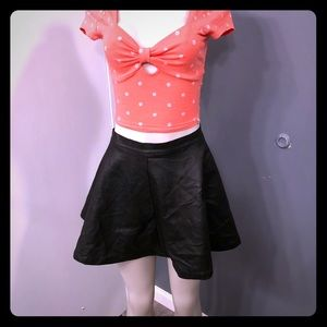 Skirt Charlotte Russe and Abercrombie top
