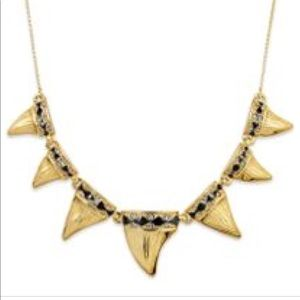 House of Harlow 1960 Gold Shark Tooth Necklace