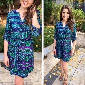 anthropologie • maeve ikat frequencies dress