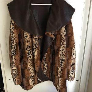 Chi by Falchi Fur Coat