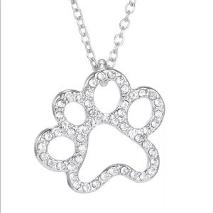 GORGEOUS RHINESTONE PET DOG CAT ANIMAL NECKLACE