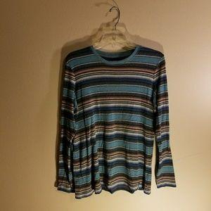 Ruff Hewn stripe long sleeve shirt