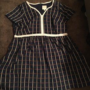 ModCloth thick vintage dress