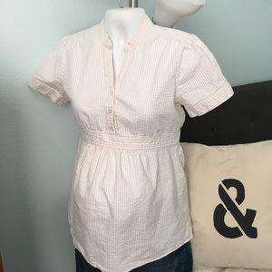 3 for $12 🍁 Motherhood Maternity Seersucker Top