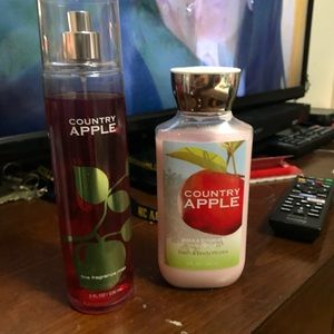 Country Apple Lotion and Body Spray