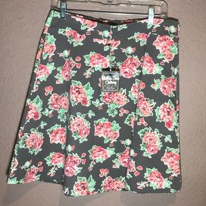 Matilda Jane floral skirt NWT size large