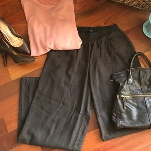 GAP Wide Leg Linen Pants