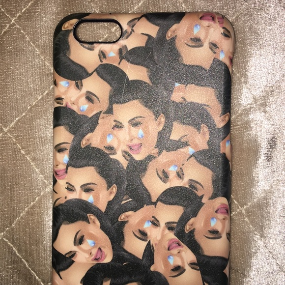 big sale 76971 5342f Kim kardashian crying IPhone 6+ case , never used