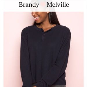 "Brandy Melville ""Allie"" long sleeve"