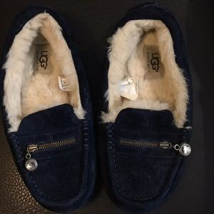 Ugg Blue Slippers