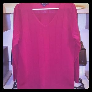 Woman's V-Neck Sweater