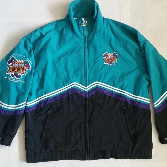 290e409a0 Logo Athletic Jackets   Blazers - HTF Athletic NFL Super Bowl XXXI jacket  Unisex L